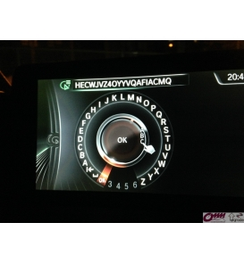 Park Kılavuzlu Yuvarlak Konnektörlü Mercedes-Benz W204 için Video Arabirimi