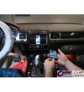 Park Rehberi çizgisine sahip Mercedes-Benz NTG5.0 için video arayüzü